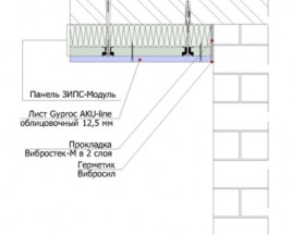 ЗИПС-Модуль -потолок
